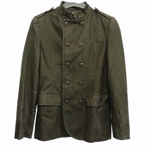 Urban Outfitters Military Double Breasted Jacket S